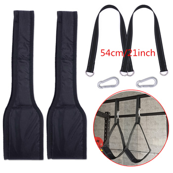 Fitness AB Sling Straps Suspension Rip-Resistant Heavy Duty Pair for Pull Up Bar Hanging Leg Raiser Home Gym Fitness Equipment 9