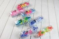 Crianças anti nevoeiro óculos de natação gradiente cor óculos de proteção uv do bebê das crianças óculos de natação Óculos de segurança     -