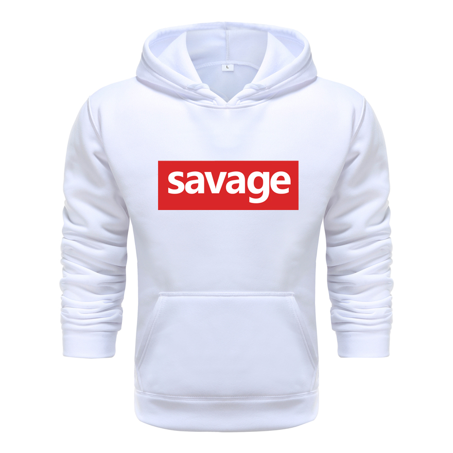 2020 New Mens Hoodies Savage Hoodies Parody No Heart X Savage Mode Slaughter Gang ATL Cotton Long Sleeved Hoodies Suprem