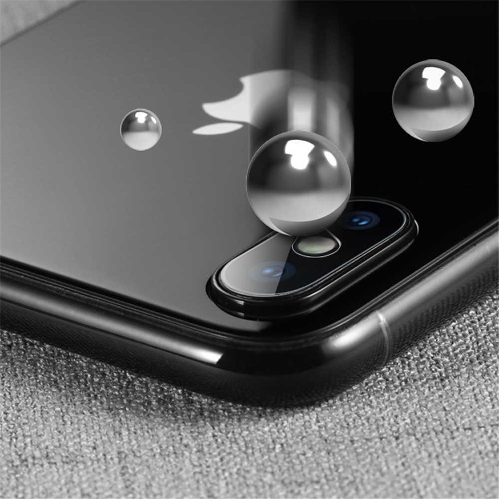 كاميرا عدسة واقية حامي ل فون XS ماكس XR X 8 7 6 6S زائد سامسونج غالاكسي ملاحظة 9 s9 S8 S7 حافة المقسى زجاج عليه طبقة غشاء رقيقة