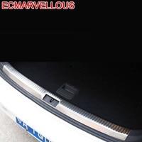 자동 트렁크 후면 패널 풋 페달 자동차 크롬 장식용 자동차 스타일링 장식 수정 18 19 FOR Volkswagen Golf 7