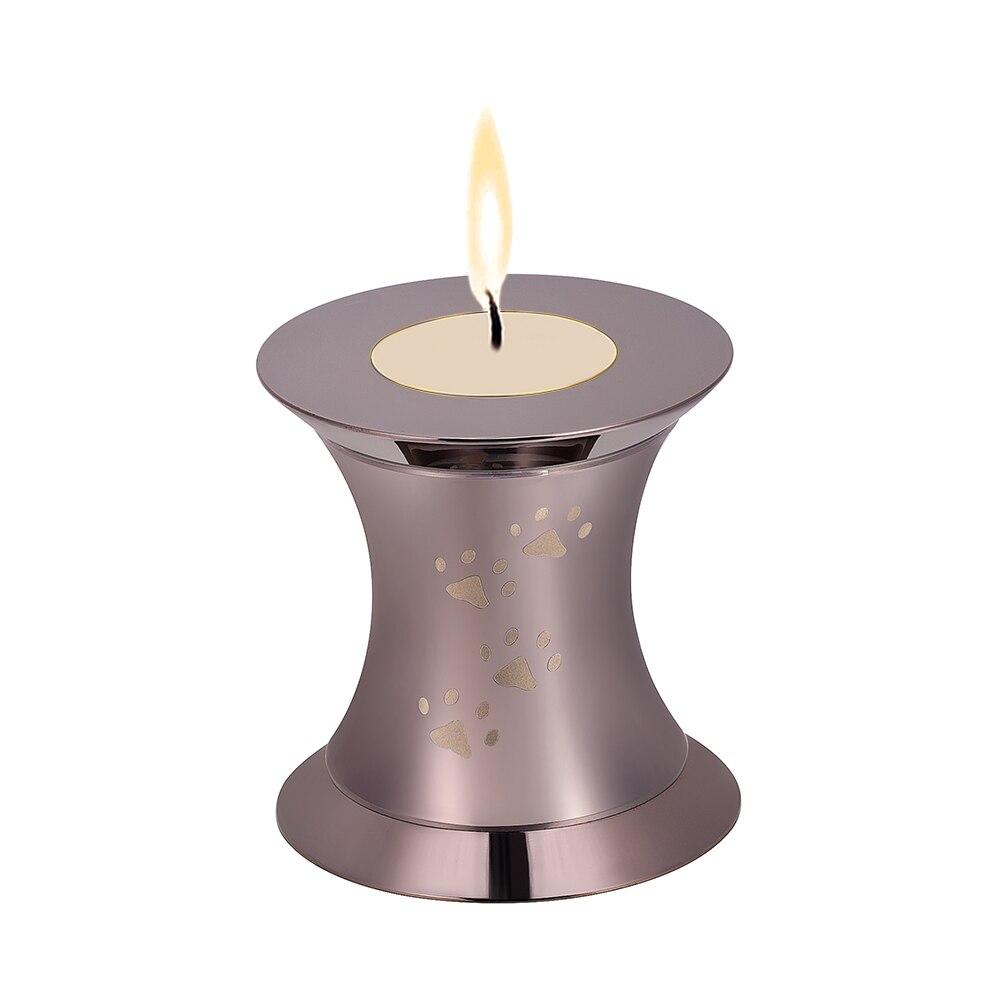Cremazione Su Ordinazione Su Ordinazione Incisione Pet Nome/Da In Acciaio Inox animale urne per le ceneri Di Cane/Gatto Keepsake Mini monili Memorial Tenere - 5