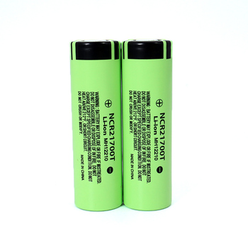 NCR21700T 3.7V 4800mAh li-lon battery 15A power 5C Rate Discharge ternary lithium batteries DIY Electric car battery pack image