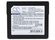 Camera sino – batterie 3750mah pour Center multimédia portable CREATIVE Zen, pour MP3 PMA-BA0001, MP4, PMP