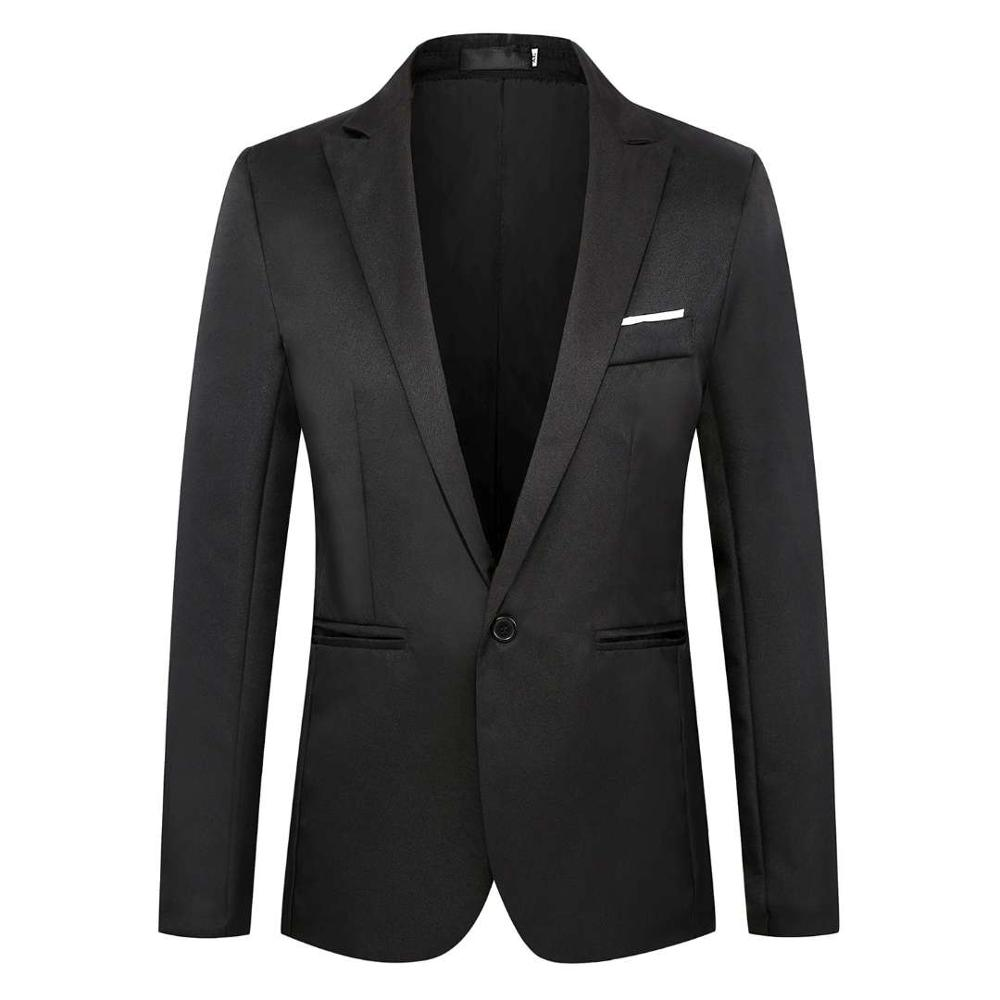 The New 2020 Button Is A Suit Jacket Youth Korean Version Of The Slim One Button Suit Men's Suit Casual Outerwear