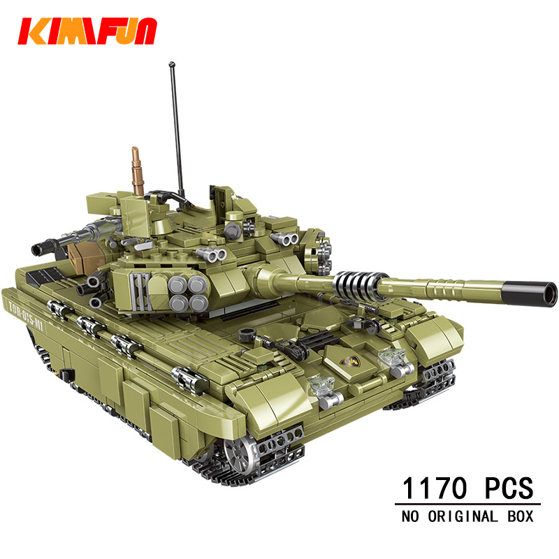 1000+pcs Military Tank Building Blocks Army Soldier Weapon Bricks Children Toys Simulated War Machine Gift Compatible Legoings
