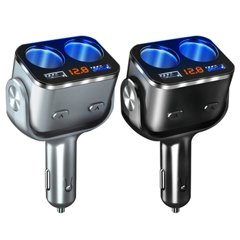 Car Cigarette Lighter Car Electronics 6ee592b94717cd7ccdf72f: 1|2|2 in 1 Cable|3 in 1 Cable