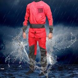 Mens Red Droogpak Kano Kajak Droogpak Multipurpose Pak Voor Een Verblijf Droog Tijdens Watersport Atv & Utv
