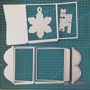 Image 5 - Feliz fiambrera troqueles de corte de Metal plantillas para álbum para recortes de fotos tarjetas de gofrado de papel DIY decorativas