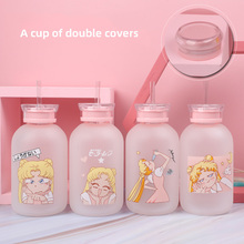 Coffee Mug Drinking-Glasses Water-Bottle Sailor-Moon Student-Cup