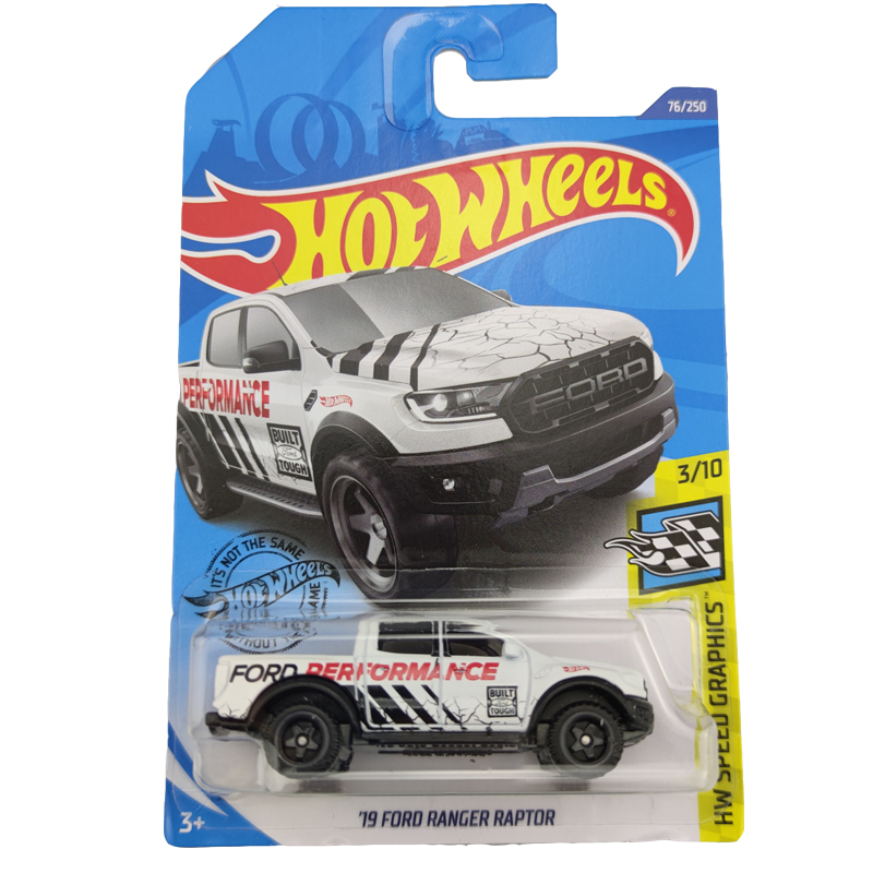 2020-76 Hot Wheels 1:64 Car 19 FORD RANGER RAPTOR Metal Diecast Model Car Kids Toys Gift