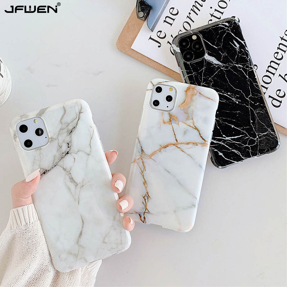Luxury Marble Silicone Phone Case For iphone 11 Pro XS Max X XR 7 8 6 6S Plus Case Soft