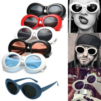 top selling product in 2020 Retro Vintage Unisex Sunglasses Rapper Oval Shades Glasses Support Whole