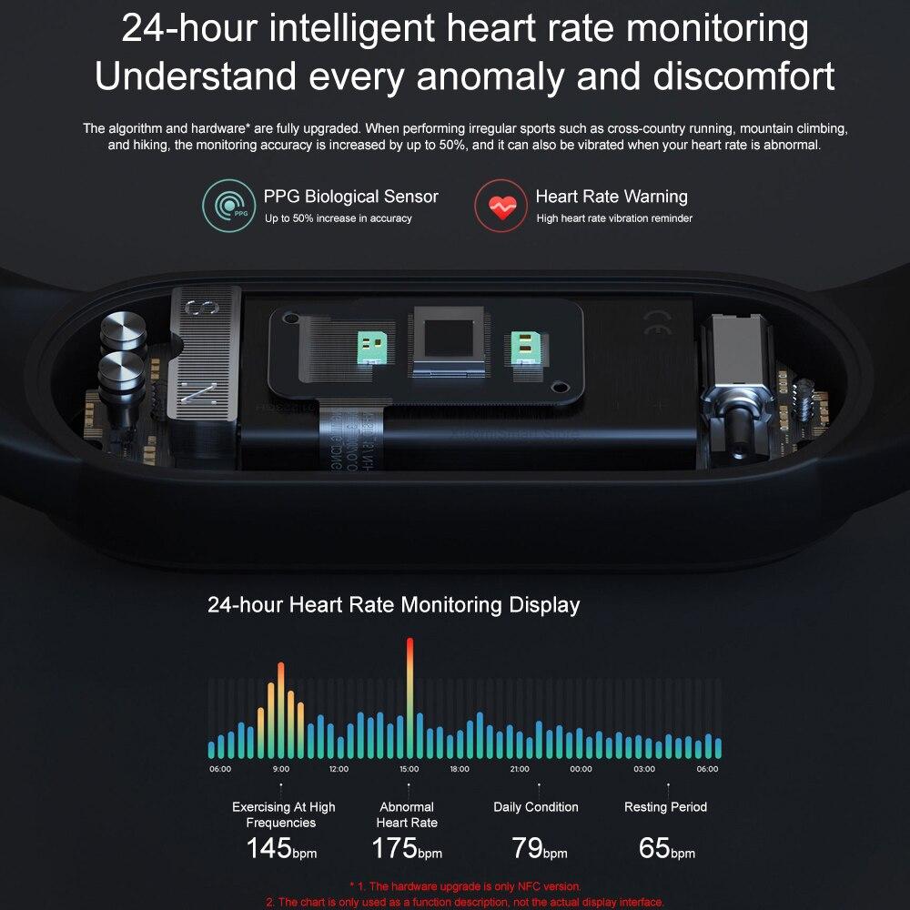 В наличии умный Браслет Xiaomi Mi Band 5 глобальная версия Фитнес браслет монитор сердечного ритма Mi 5 спортивный смарт-браслет Redmi airdots 3 наушники 3