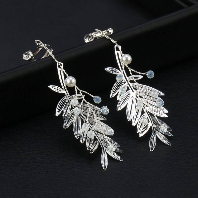 Cute Crown motif Earrings  Wedding  Jewelry Making  Matte Rhodium Plated Brass  925 Sterling Silver Post  2pcs  eso105
