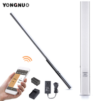 YONGNUO YN360S Ultra thin Handheld LED Video Light 3200k to 5500k Phone App Control LED Lighting Stick For wedding photography