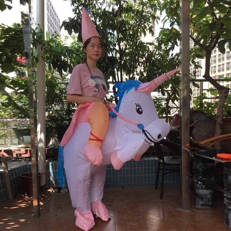 Erwachsene Einhorn Aufblasbare Dinosaurier Kostüm Willy Alien Sumo Anime Cosplay Halloween Dino Reiter Dinosaurier Kostüm Für Kind Frauen Männer