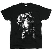 Robert Plant Led Zeppelin Men T-shirts Men T Shirts Harajuku Funny Print Tshirt Men Hip Hop(China)