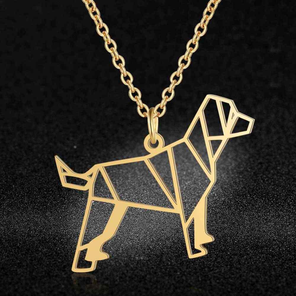 Unikalne śliczne pies naszyjnik LaVixMia włochy projekt 100% naszyjniki ze stali nierdzewnej dla kobiet Super moda biżuteria specjalny prezent