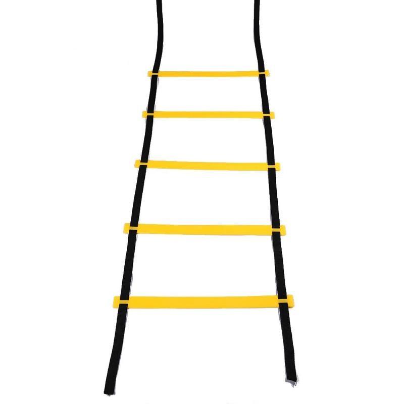 5 Rung 10 Feet 2.7m Rung Nylon Straps Agility Training Ladders Soccer Football Speed Ladder Training Stairs Fitness Equipment