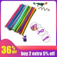 10 teile/satz Pädagogisches Spielzeug Kreative Kinder Puzzle Twist Stick Tier Kindergarten Handgemachte Material Kinder Spielzeug