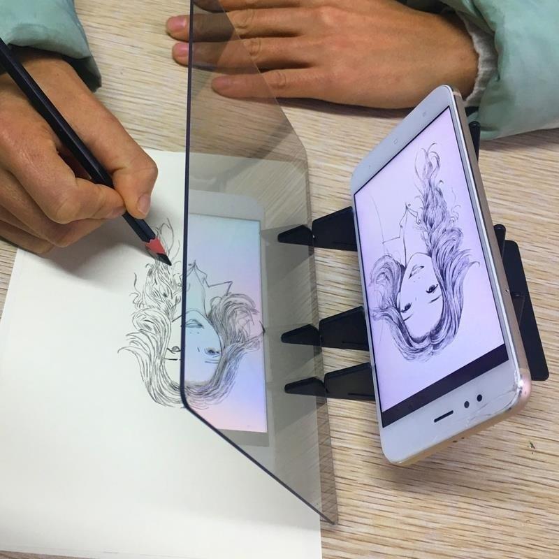 Facile A Peindre Croquis Assistant Peinture Support Outils De Dessin Pour Les Enfants Aliexpress