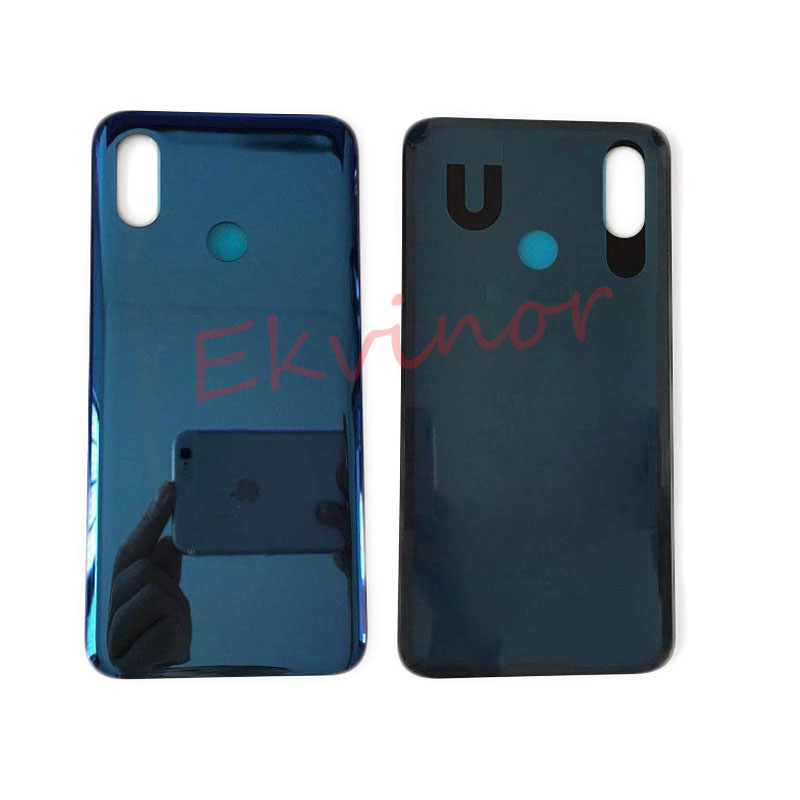 Original 6.21 inch glass back <font><b>cover</b></font> for <font><b>xiaomi</b></font> mi8 back door <font><b>mi</b></font> <font><b>8</b></font> <font><b>battery</b></font> <font><b>cover</b></font> glass Housing case replacement with glue image