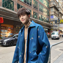 Autumn New Jacket Mens Fashion Letter Printing Casual Coat Man Streetwear Wild Hip Hop Loose Bomber M-2XL