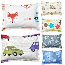 Pillowcase Kids Newborns Cartoon Animal Infant Girls Baby Boys Children 26--36cm 100%Cotton