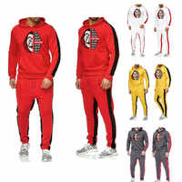 Salvador Dali Felpe giacca Cosplay Dinheiro Assalto Casa de La Casa de Papel de Papel Felpe Moletons Trajes Cosplay Costume