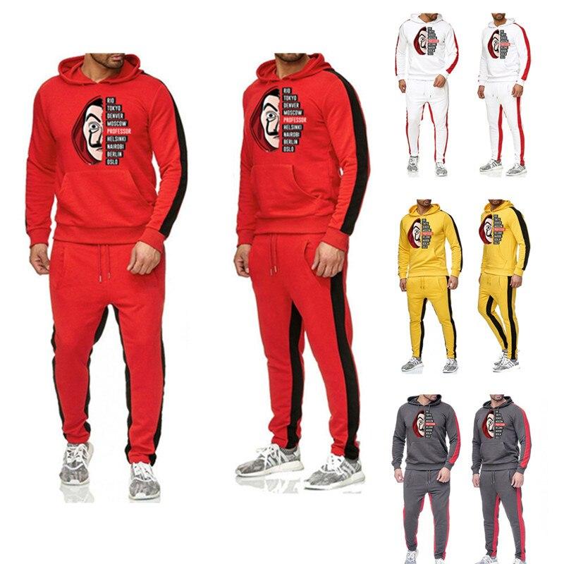 Salvador Dali Hoodies jacket Cosplay Dinheiro Assalto Casa de La Casa de Papel de Papel Hoodies Moletons Trajes Cosplay Costume
