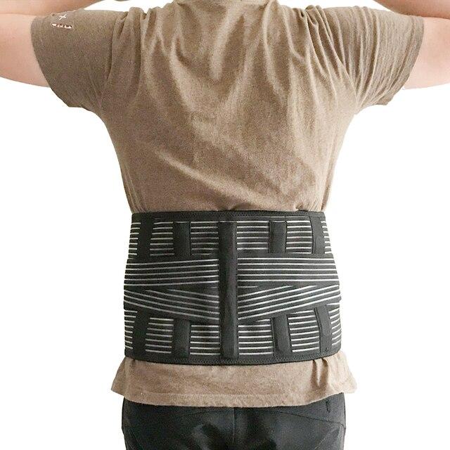 Lumbar Back Spinal Spine Waist Brace Support Belt Corset Stabilizer Cincher Tummy Trimmer Trainer Weight Loss Slimming Belt 4