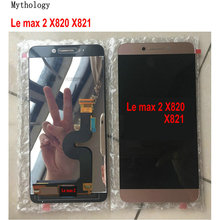 """מיתולוגיה מקורי עבור Letv מקסימום 2X820X829 מגע מסך תצוגת LeEco X821 X822 מגע לוח 5.7"""" נייד טלפון צגי Lcd"""