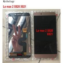 Оригинальный сенсорный экран Запчасти для Letv Max 2 X820 X829, дисплей LeEco X821 X822, сенсорная панель 5,7 дюйма, мобильный телефон LCDs