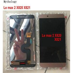 "Image 1 - Mythologie Original Für Letv Max 2X820X829 Touchscreen Display LeEco X821 X822 Touch Panel 5,7"" handy LCDs"