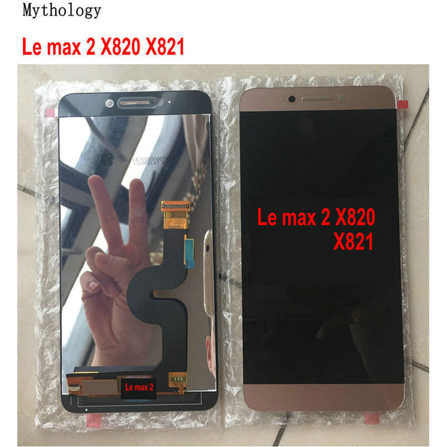 """Mythology Original For Letv Max 2 X820 X829 Touch Screen Display LeEco X821 X822 Touch Panel 5.7""""Mobile Phone LCDs"""