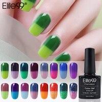 Elite99 Temperatur Ändern UV Gel Lack Gel Nagellack Maniküre Thermo Gel Polish Nail art Stimmung Ändern Farbe Hybrid Lack