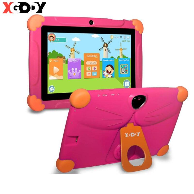 7 polegadas tablet infantil android 8.0 versão aprendizagem e educação portátil 1g + 16g tablet