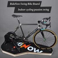 Placa rolada ciclismo trainer mesa de ciclismo para o treinamento interno plataforma equitação da bicicleta placa auxiliar simulado ciclismo estrada|Bicicleta fixa| |  -