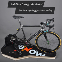 Rolled Plate Cycling Trainer Cycling Table For Indoor Training Bicycle Riding Platform Auxiliary Board Simulated Road Cycling