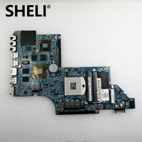 SHELI HP DV6 6770M laptop motherboard 55.4RH01.55.1G DDR3 665342 001 100% test ok
