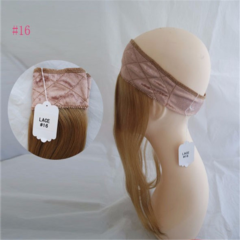 Hot Sale European Hair Iband Head Band With Hair Lace Wig Grip For Jewish Wig Kosher Wigs In Stock