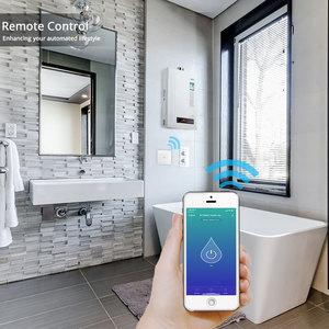 Image 4 - WiFi Smart Boiler Switch Water Heater Smart Life Tuya APP Remote Control Amazon Alexa Echo Google Home Voice Control Glass Panel