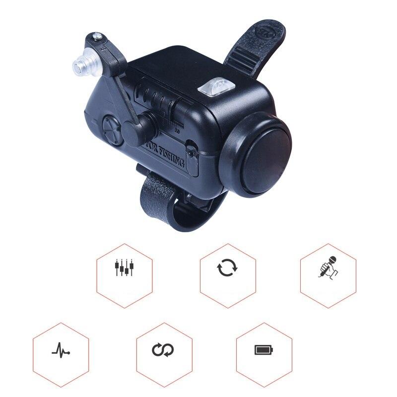 New High Sensitive Fish Bite Alarm Adjustable Volume Fishing Rod Signal Device Bait Alertor