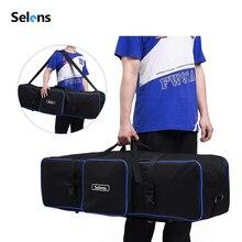 Selens Fotografie Ausrüstung Padd Zipper Tasche 105cm/43in für Licht Steht Regenschirme stativ wasserdichte fotografia tragen taschen