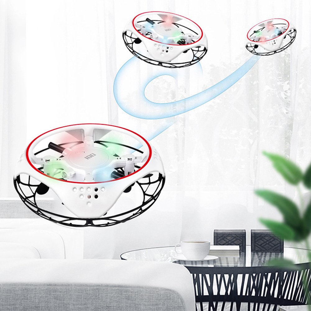 UFO Drone RC Quadcopter Infrared Sensing Control Induction Altitude Hold Mini Intelligent Induction Outdoor Game Toys for Child