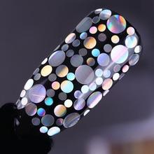 1.5g/box Nail Holographic Silver Glitter Powder Nail Art Seq
