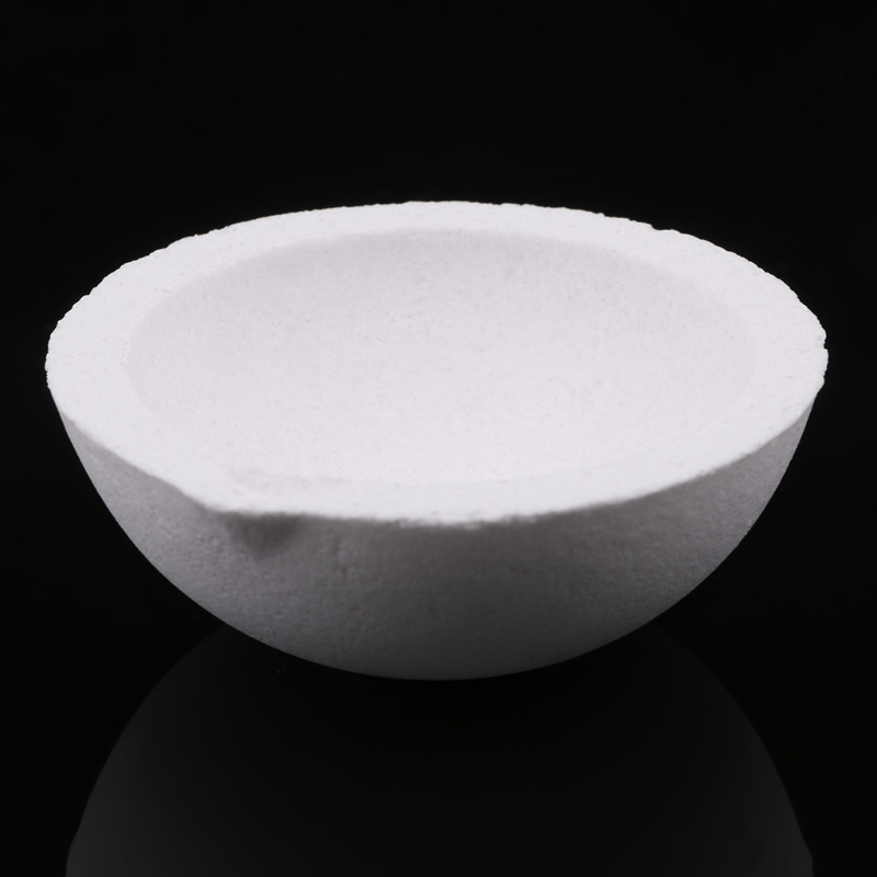 Free Shipping 150 Grams High Temperature Quartz Silica Melting Crucible For Gold Silver Jewelry Tools Equipments