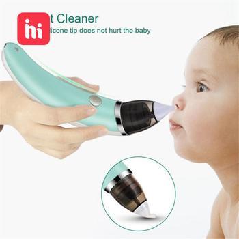 Kid Baby  Nasal Aspirator Electric Nose Cleaner Newborn Baby Sucker Cleaner Sniffling Equipment Safe Hygienic Nose Aspiratorr