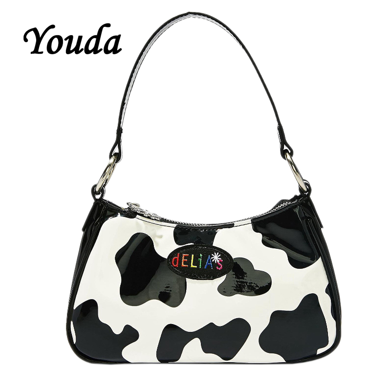 Youda New Vintage Design Women Shoulder Bag Fashion Ladies Crossbody Bags Female Handbags Cool Girls Tote Original PU Handbangs